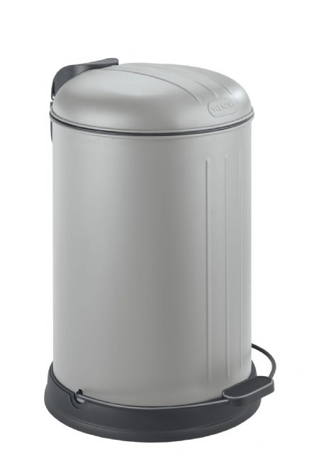 Wenko Lagun Matt Grey Kitchen/Bathroom Bin 12L